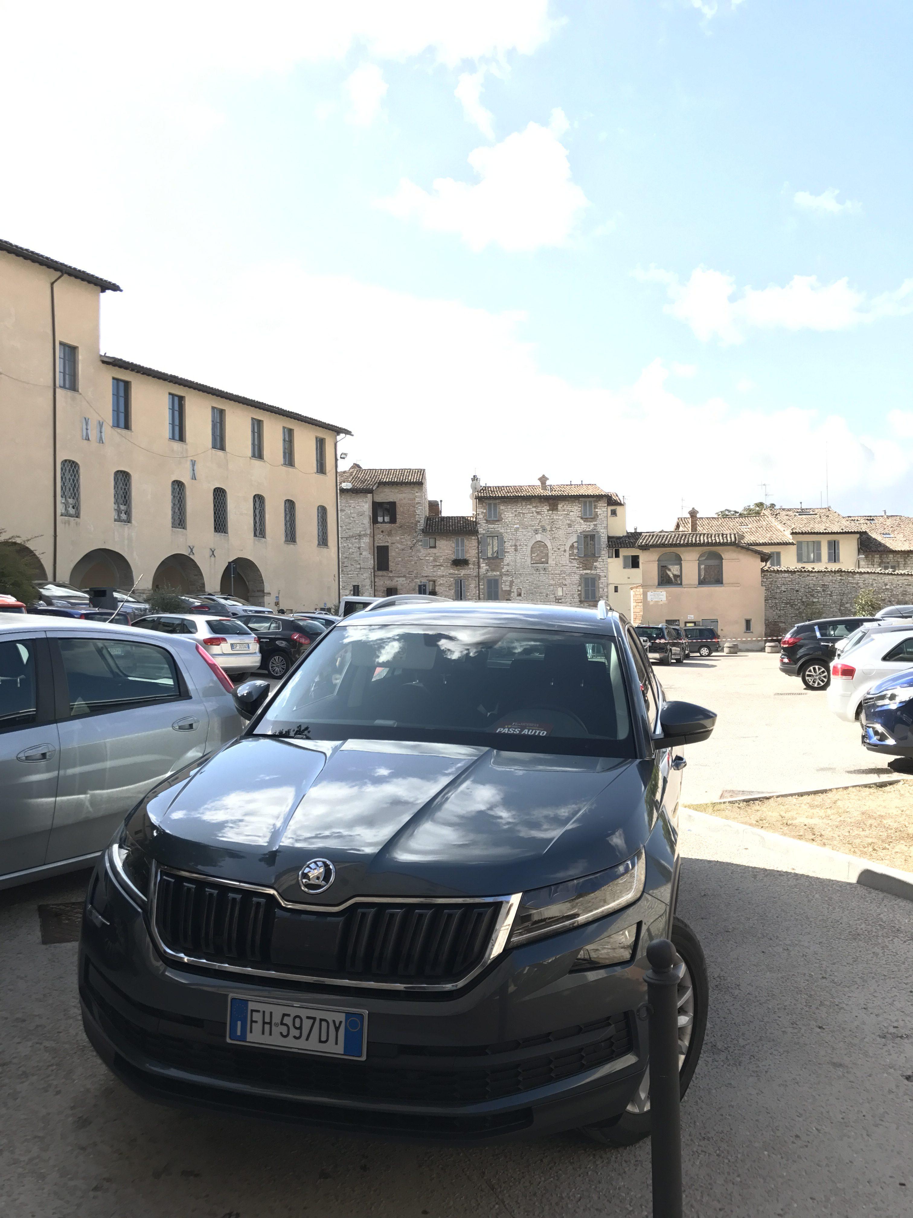 Con #Skoda Kodiaq tra le ricchezze dell'Umbria #testdrive #testroad #traveller