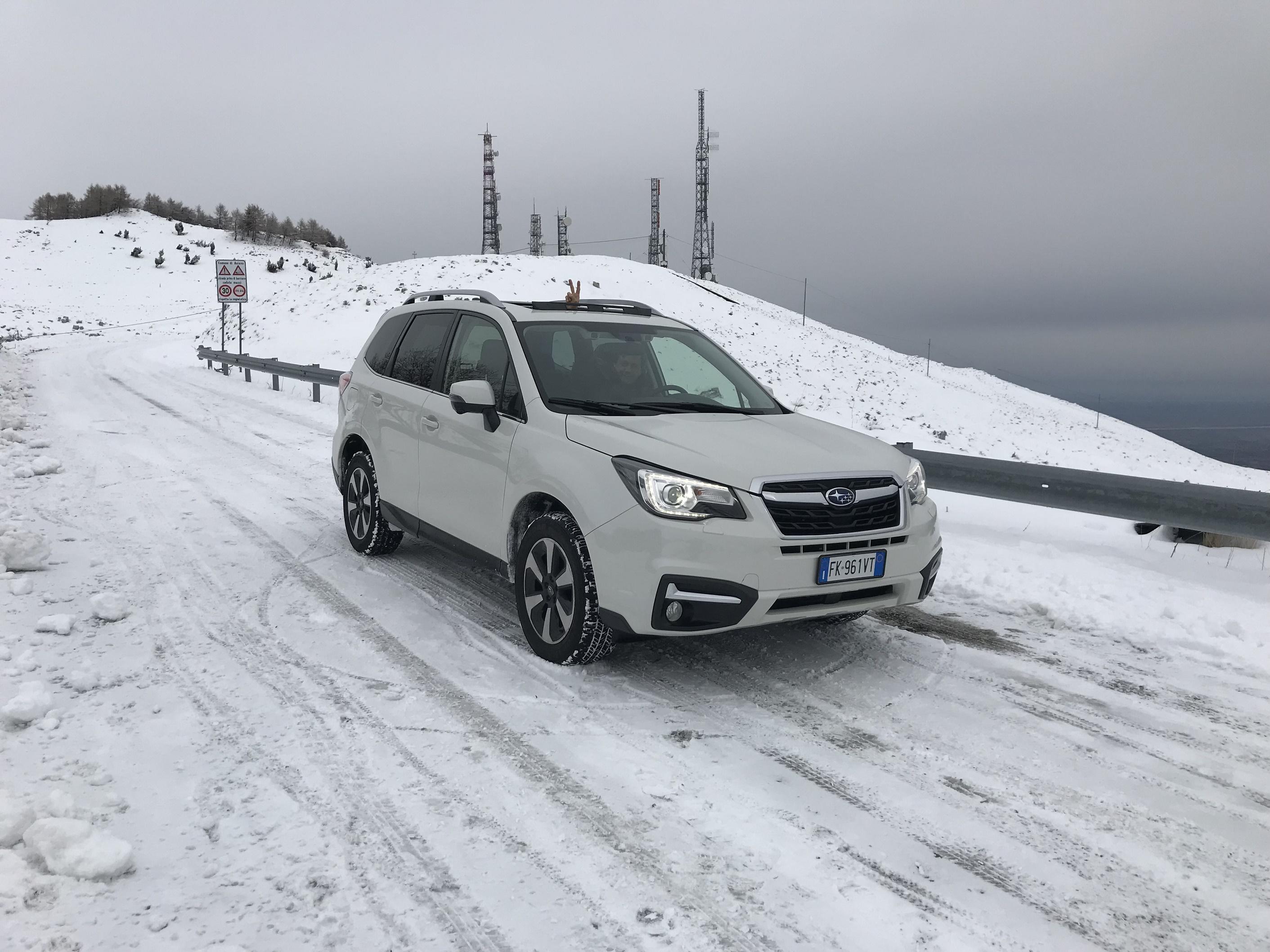 #Testdrive #Subaru Nuova #Forester sempre sinonimo di affidabilità sulla neve