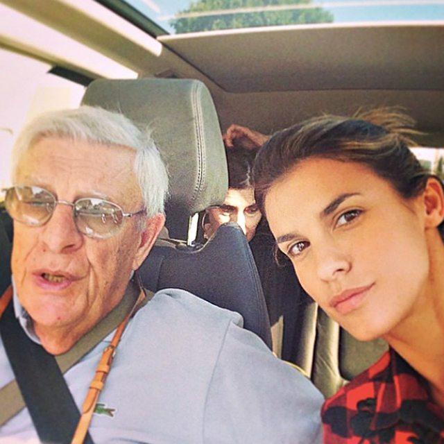 Elisabetta Canalis, morto il padre: era andato a trovarla negli Usa