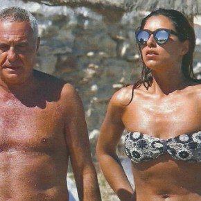 """Giorgio Panariello e la fidanzata, arriva il famoso calciatore: """"L'ha contattata sui social"""""""