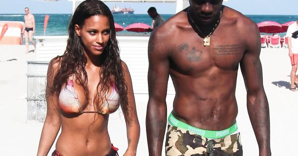 Mario Balotelli e Fanny Neguesha innamorati: