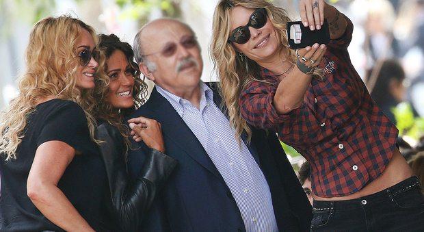 Samantha De Grenet ed Elenoire Casalegno, pranzo insieme tra selfie e ammiratori