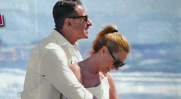 Federica Panicucci nuova vita, week-end con Marco Bacini a Forte dei Marmi