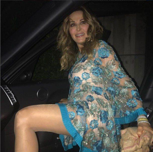 Daniela Santanchè hot su Instagram: il vestito è trasparente