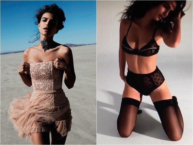 Emily Ratajkowski, bellezza ipnotizzante nelle foto e nel servizio per Vogue