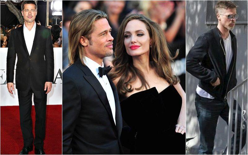 Brad Pitt dimagrito e stanco dopo il divorzio da Angelina Jolie