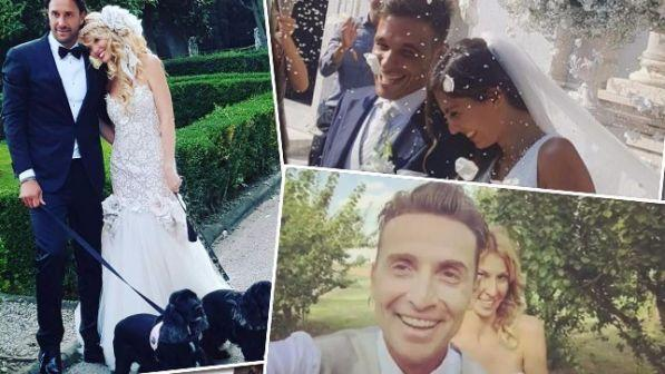 Weekend con i fiori d?arancio: vanno a nozze Luca Toni, Pintus e Niccolò Canepa