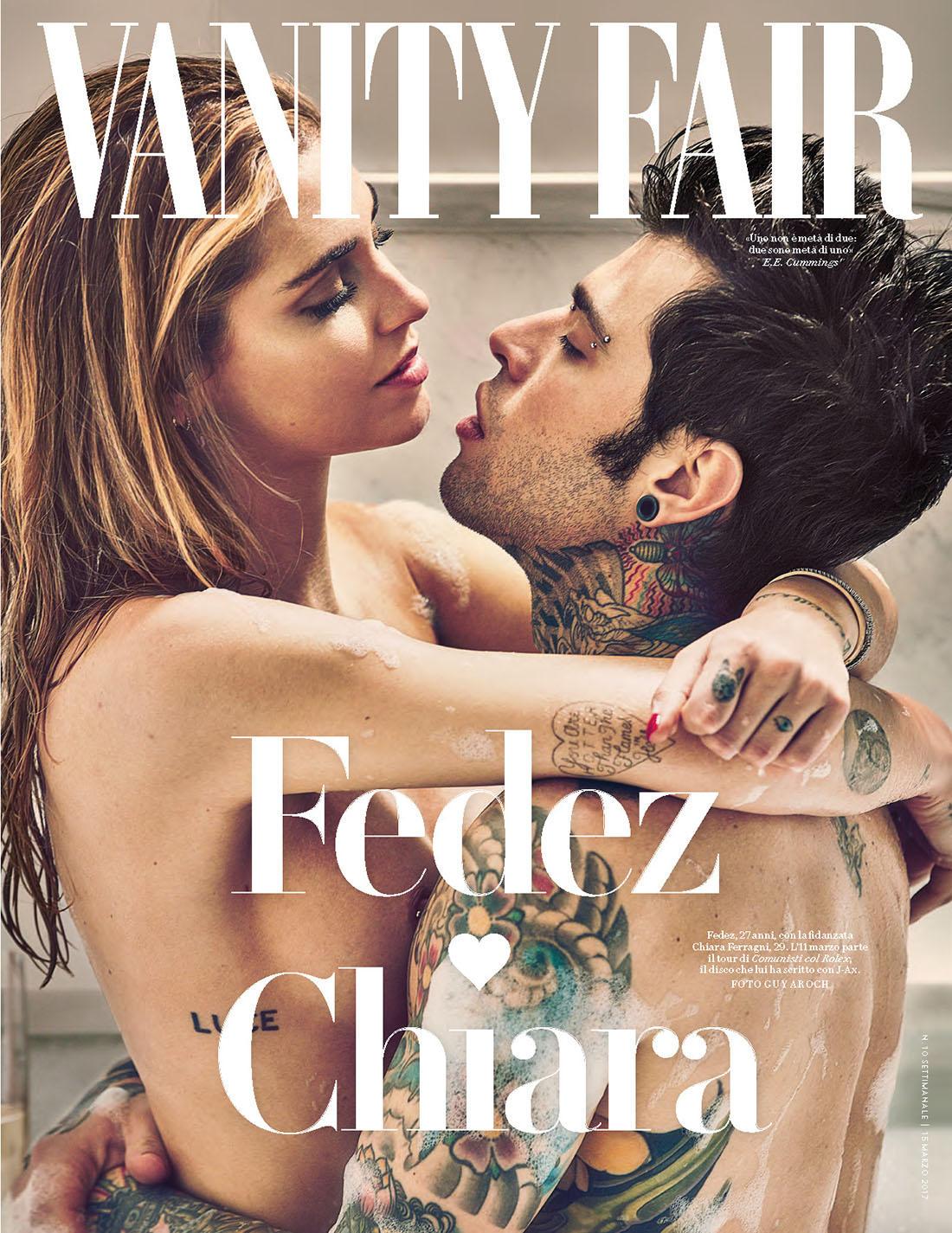 Ferragni e Fedez, che fantasia! La foto su Vanity Fair è copiata da un ex coppia di bellissimi