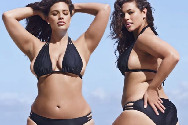 Ashley Graham, il suo bikini curvy conquista New York