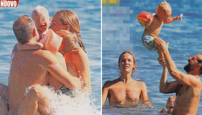 Fabio Volo, tra le cartoline delle vacanze il topless di Johanna
