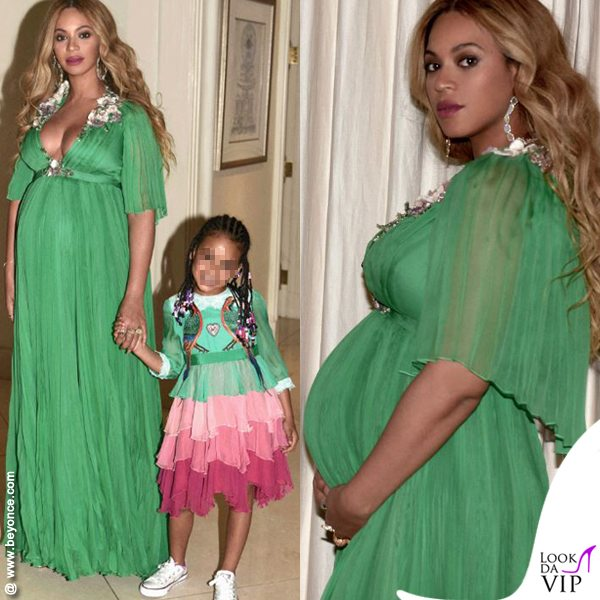 Beyoncé luxury, tripudio di chiffon in Gucci