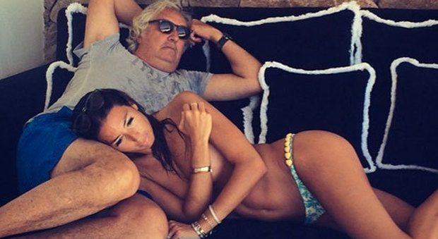 Briatore-Gregoraci, fine di un amore?