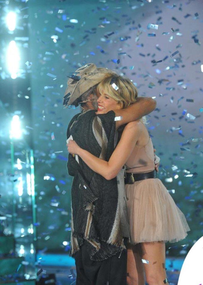 """Alessia Marcuzzi: """"Raz era il mio preferito, ho fatto la matta e riso tanto"""""""