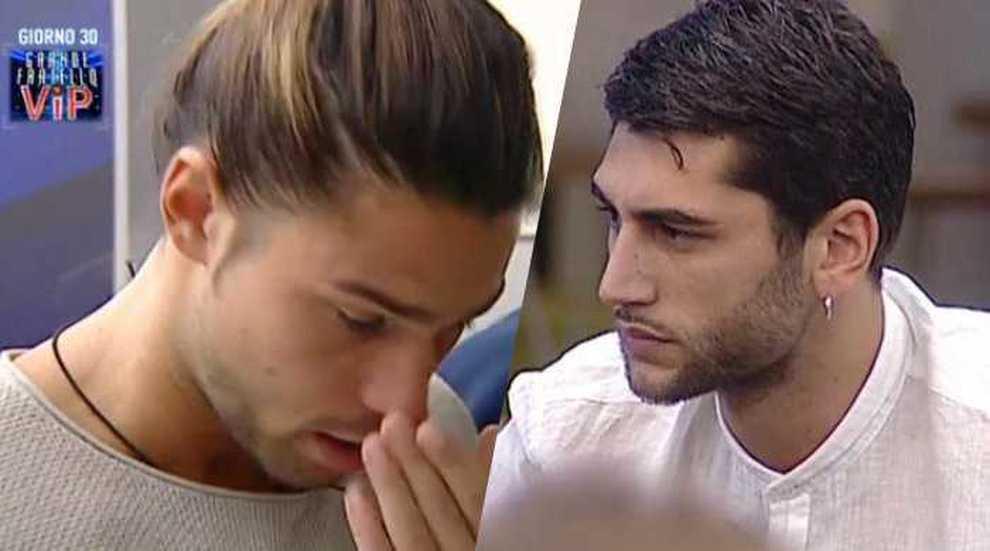 GF Vip, Jeremias a Onestini: «Se non ci conoscevamo, ti avrei tirato due schiaffi»