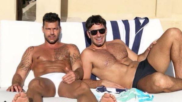 """Ricky Martin: """"Ho sposato il mio compagno"""""""