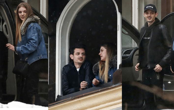 Fabio Rovazzi, vacanze a Cortina con la fidanzata modella Karina Bezhenar