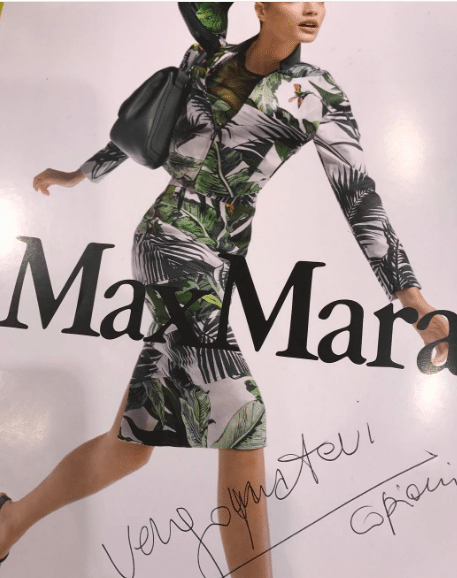 """Gabbana si indigna su Instagram: """"Max Mara mi copia. Vergognatevi"""""""