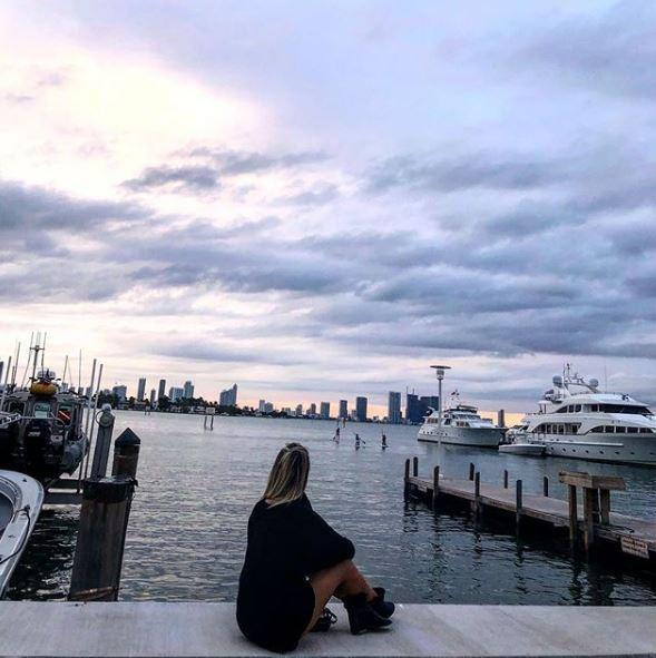 Costanza Caracciolo e Christian Vieri a Miami dopo il dolore