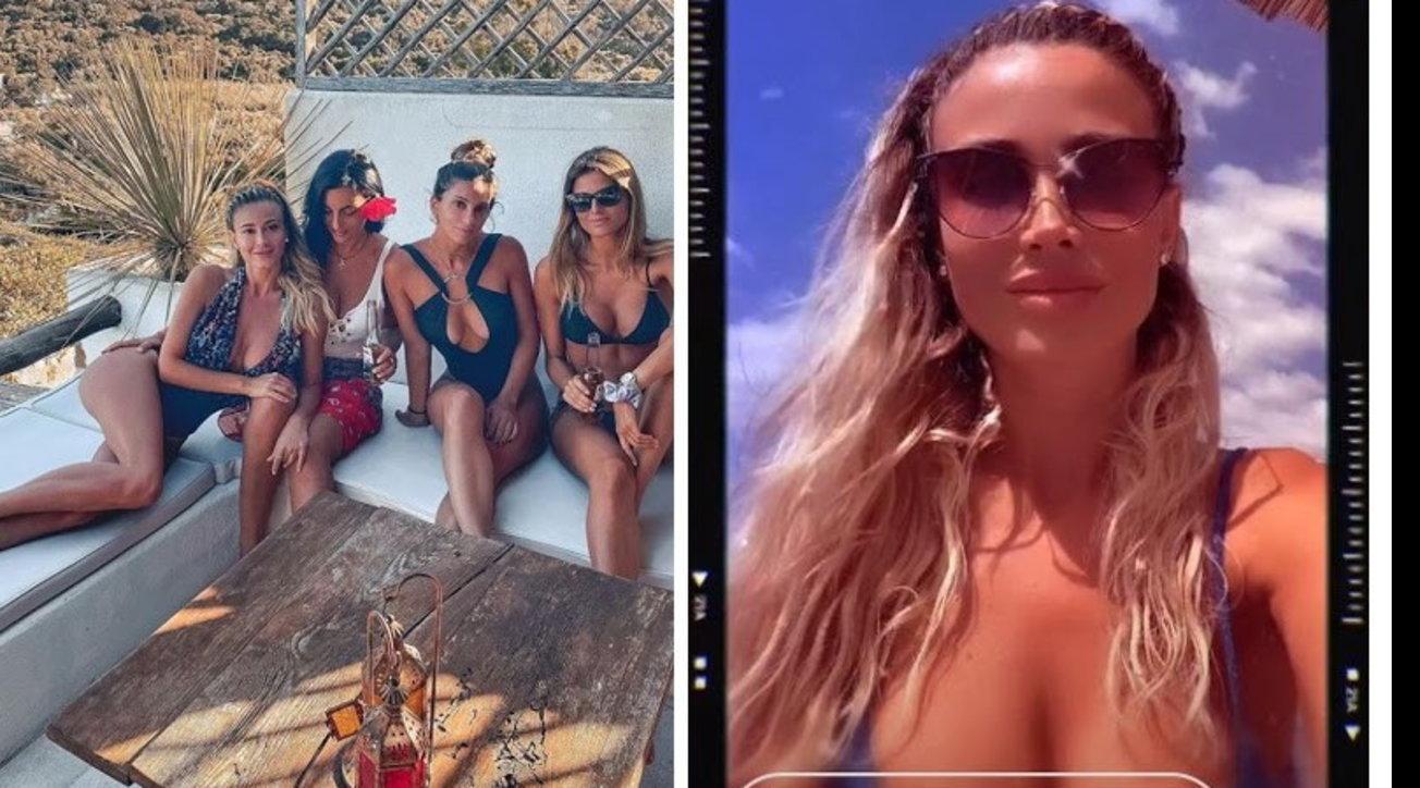 Diletta Leotta incontenibile in vacanza con le amiche