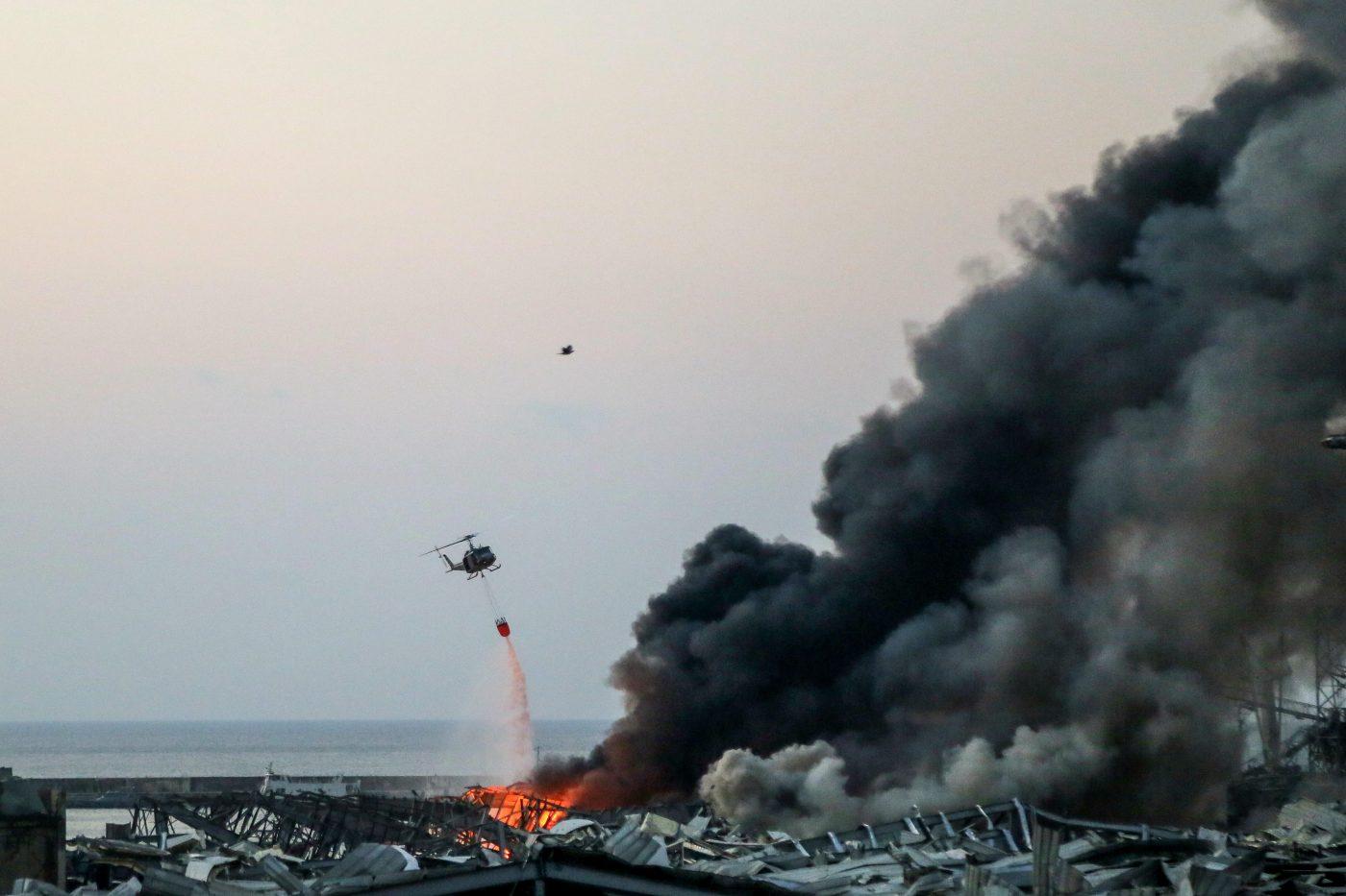 Beirut, drone o uccello prima dell'esplosione? Il video shock che gira sul web