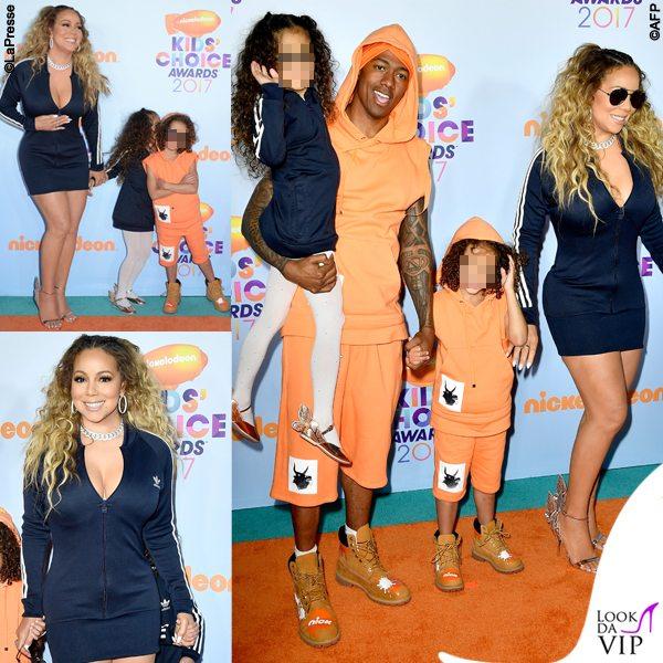 Mariah Carey e famiglia in pendant sul red carpet