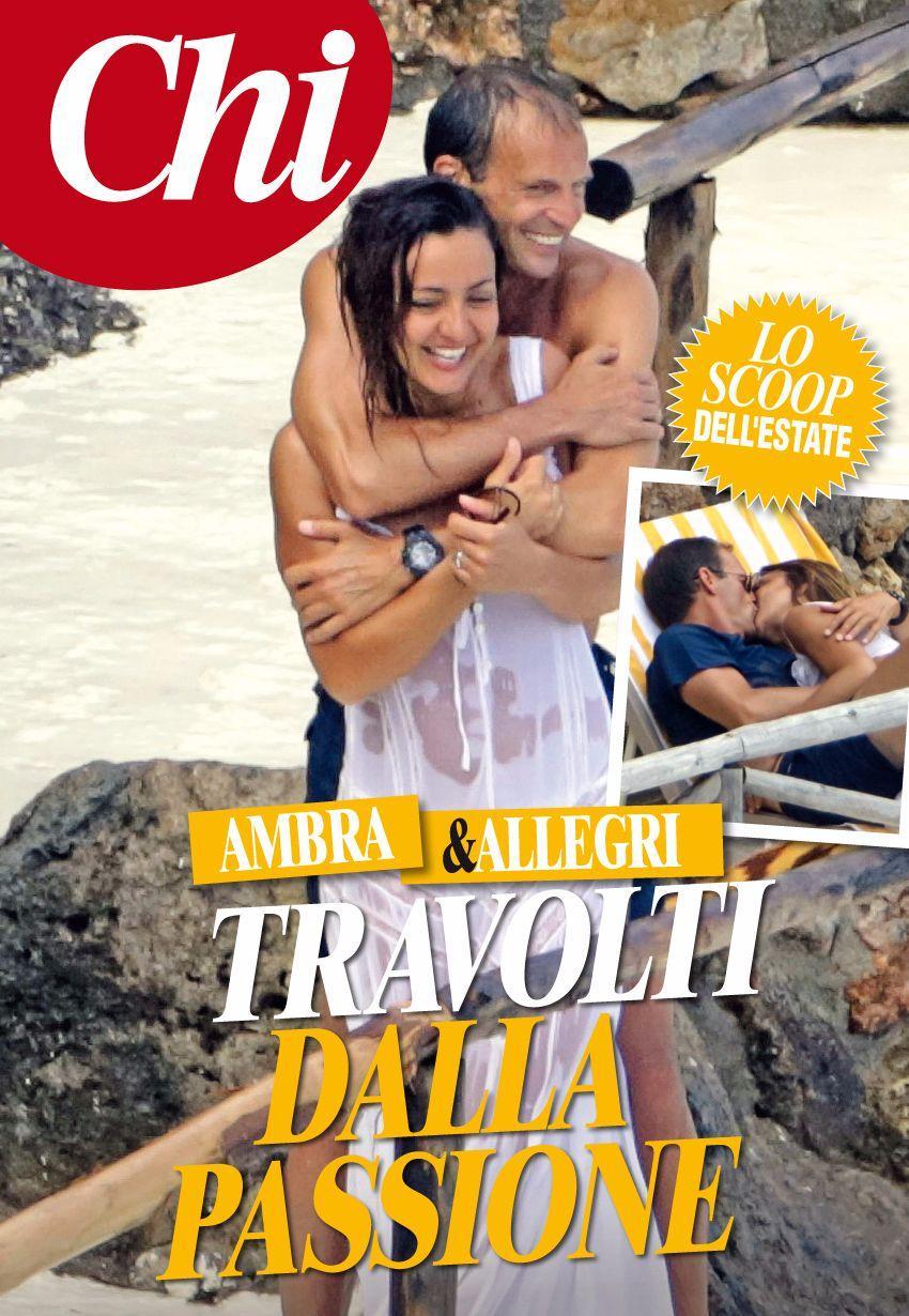 Ambra Angiolini e Massimiliano Allegri, la nuova coppia dell?estate