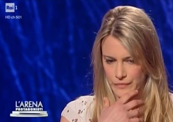 Elena Majoni racconta a Giletti le violenze dell'ex marito Gabriele Muccino