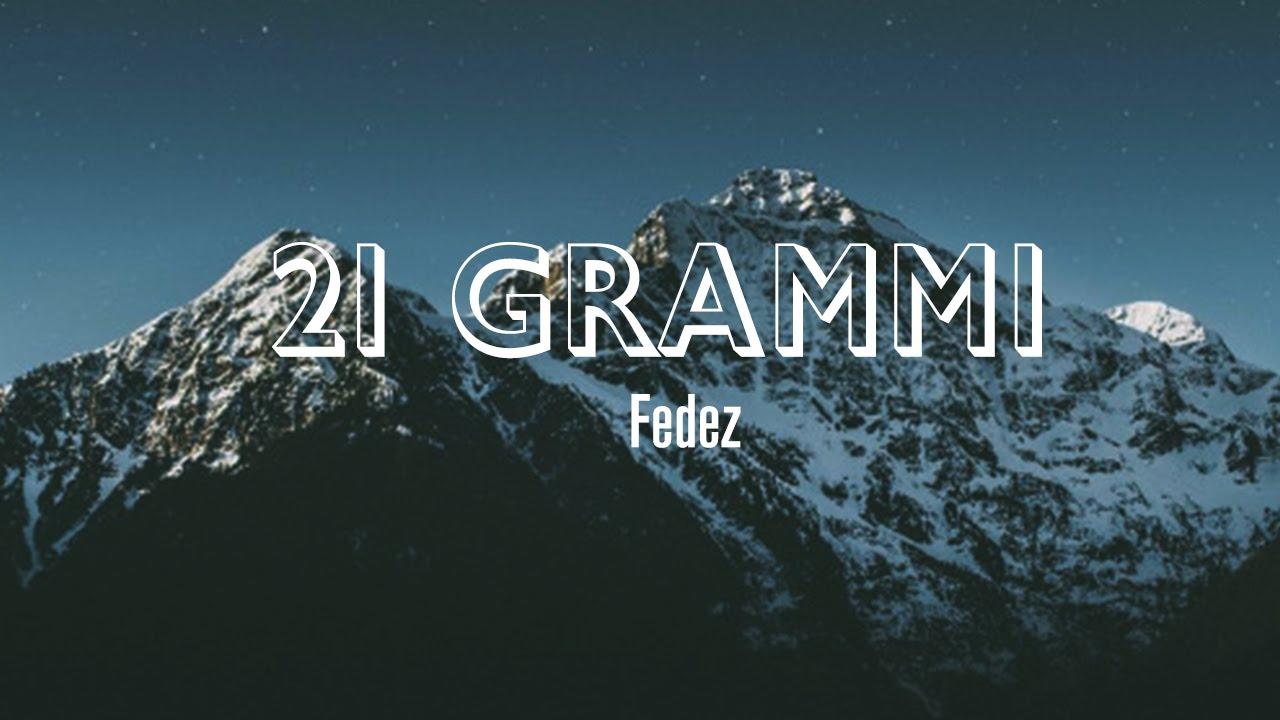 FEDEZ - 21 GRAMMI