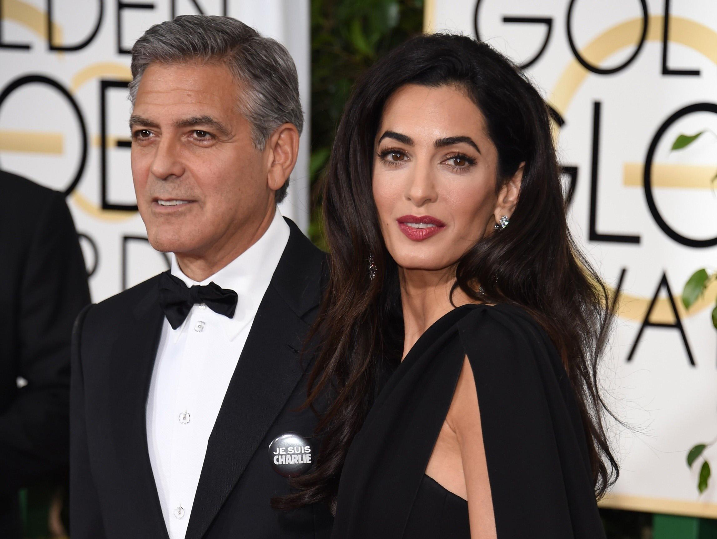 """Clooney: """"I gemelli non si chiameranno Casa e Amigos"""""""